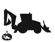Backhoe Template